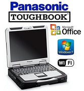 "CF-31 Panasonic Toughbook Win 7 Pro Laptop Core i5 2.4GHz - 120GB SSD - 8GB RAM - 13.1"" Touchscreen Display - WiFi - DVD/CD-RW"