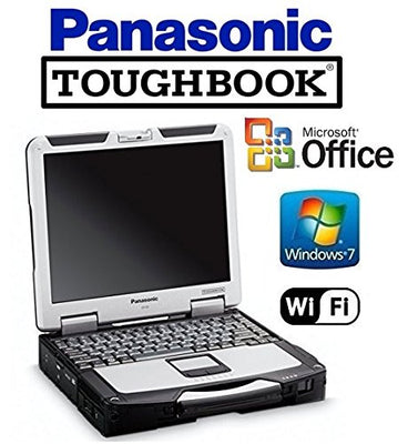 CF-31 Panasonic Toughbook Win 7 Pro Laptop Core i5 2.4GHz - 120GB SSD - 8GB RAM - 13.1