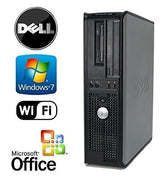 Dell OptiPlex Gamer Workstation with Intel Quad-Core CPU/8GB RAM/1TB HDD/DVD-RW/Windows 7 PRO 64 BIT OS/WiFi/1GB NVIDIA HDMI Graphics Card