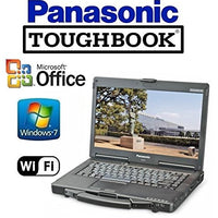 "Toughbook Rugged Laptop - 14"" Touchscreen Panasonic CF-53 - i5 2.6GHz CPU - 120GB Solid State Drive - 16GB RAM - Windows 7 Pro - WiFi - DVD"