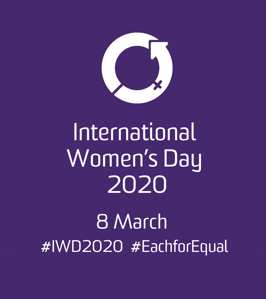 How can we celebrate International Women's Day 2020?