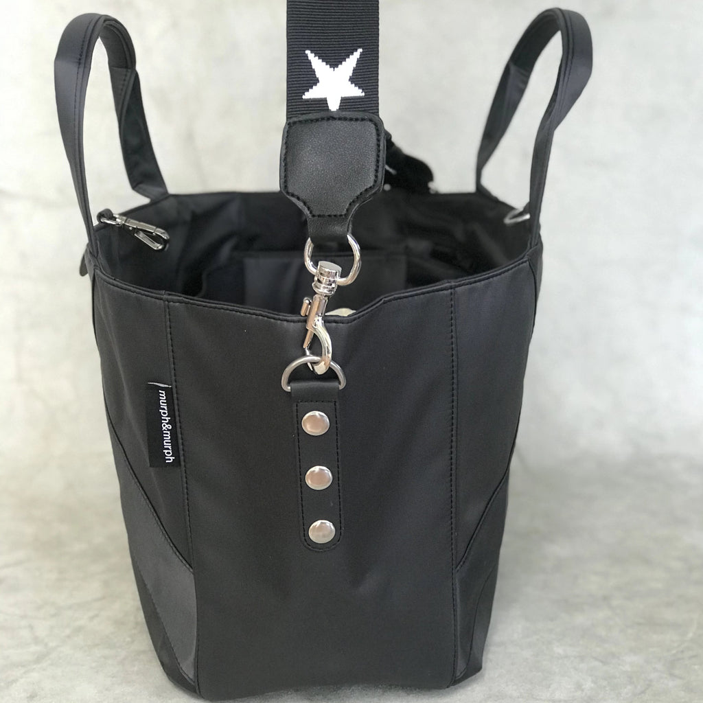 Cove Traveller Bag - Charcoal - Star Strap