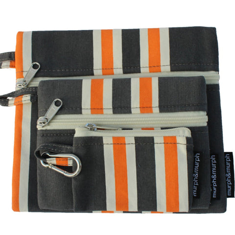 Cove Pouches - Grey
