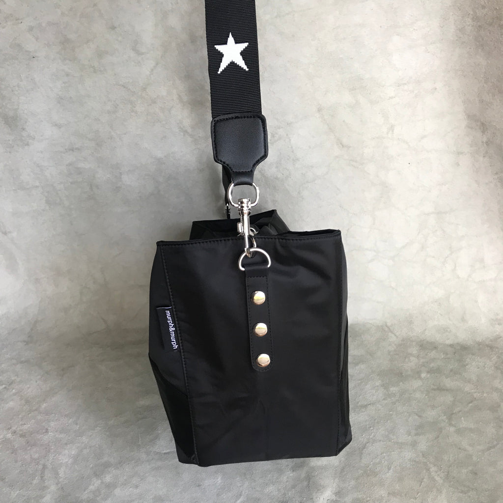 Cove Traveller Bag - Black - Star Strap