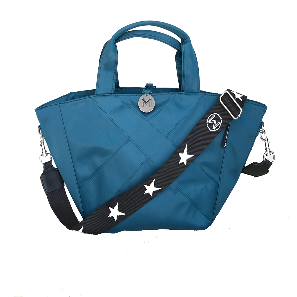 Cove Traveller Bag - Teal - Star Strap