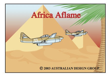 Africa Aflame Gold
