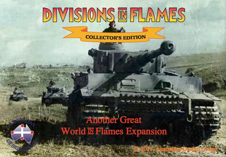 Divisions in Flames Collector's edition  NEW!