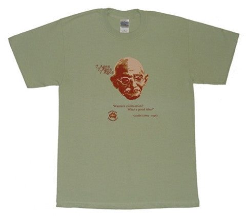 7 Ages T-Shirt  Gandhi
