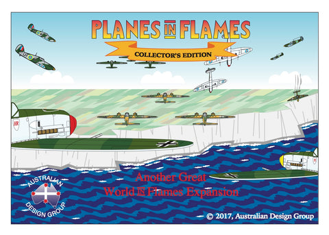 Planes in Flames Collector's edition  NEW!