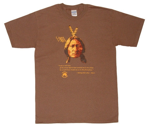 7 Ages T-Shirt  Sitting Bull