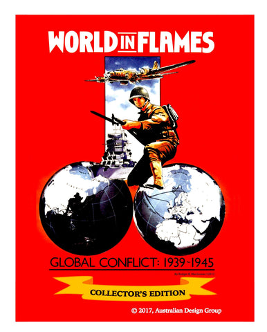 World in Flames Collector's Edition Deluxe game NEW! (buy on KS NOW!)