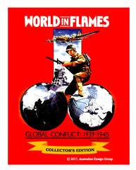 World in Flames Collector's Edition Deluxe game 6 pack  NEW!