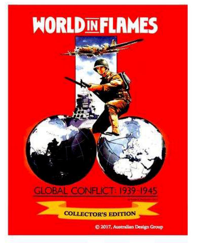 World in Flames Collector's Edition Rules & charts set  NEW!