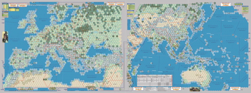 World In Flames Collectoru0027s Edition Map Set ...