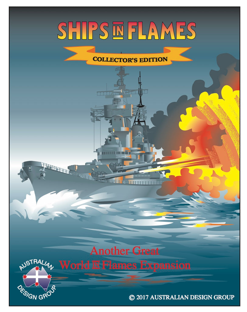 Ships in Flames: The Collector's edition  NEW!