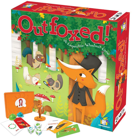 00418 Gamewright Outfoxed