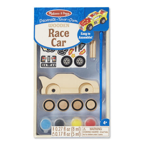18829 Decorate your Own Wooden Race Car