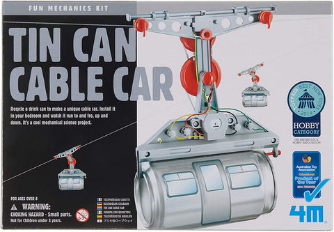 03358 4M Kidz Robotix Tin Can Cable Car