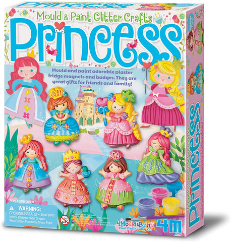 03528 4M Mould & Paint Glitter Princess