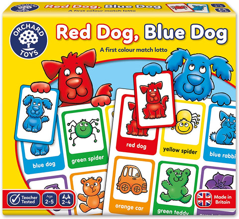 10092 Orchard Red Dog, Blue Dog
