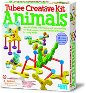 04623 4M Creative Straw Kit Animals