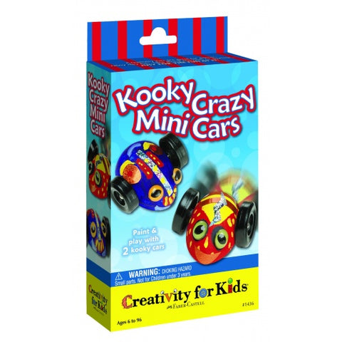 CFK-1436 Creativity for Kids Kooky Crazy mini cars (T)