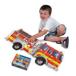 10436 Giant Fire Engine Floor Puzzle