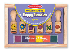 12407 Wooden Handle Stamps