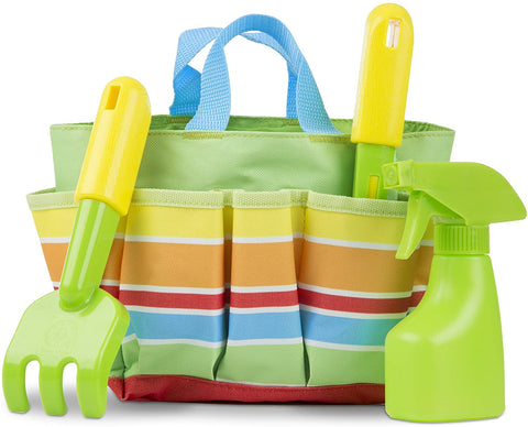 16741 M&D Sunny Patch Bug Tote Set (T)