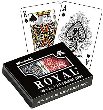 2090 Washable Royal Playing Cards Barajas