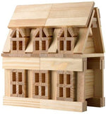 0BCTBSL100 Citiblocs 100 pc Natural Wooden Building Blocks (T)