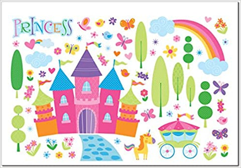 J1107 Peter Pauper Wall Decals Enchanted Kingdom (T)