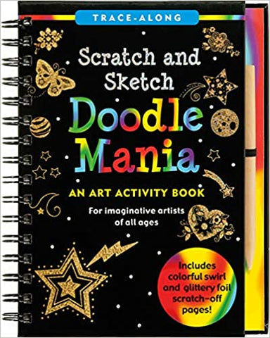 K7278 Peter Pauper Scratch and Sketch Doodle Mania