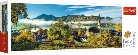 29035 Trefl Panorama By the Schliersee Lake, Germany