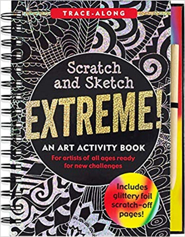 K5853 Peter Pauper Scratch and Sketch Extreme