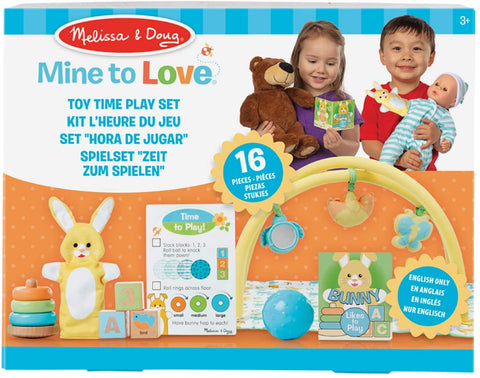 41706 M&D Mine to Love Toy Time Play set