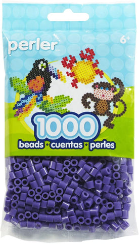80-19007 Perler 1000 beads purple