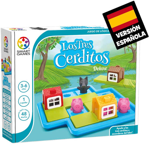 SG 023 Smart Games Los Tres Cerditos (T)