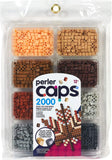 80-17554 Perler Caps Mini Tray Neutral Colors