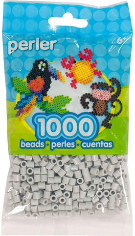 80-15181 Perler 1000 Beads Light Grey