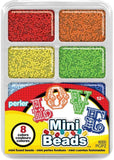 80-17529 Perler Mini Beads Tray Rainbow Colors