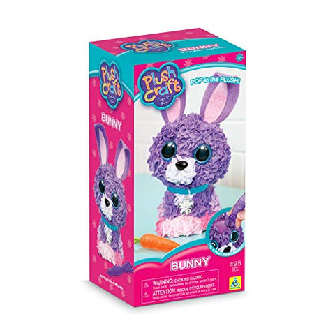 72896-29 Orb Plush Craft 3D Bunny