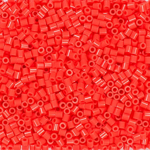80-19059 Perler 1000 Beads hot coral (T)