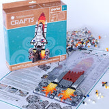 80-54318 Perler Smithsonian Crafts Space Shuttle