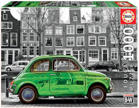 18000 Educa Coloured B&W Coche en Amsterdam