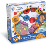 LER7204 Learning Resources Smart Snacks ABC Lacing Sweets