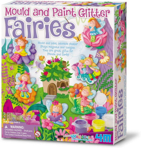 03524 4M Mould & Paint Glitter Fairies