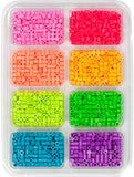 80-17553 Perler Caps Mini Tray bright colors