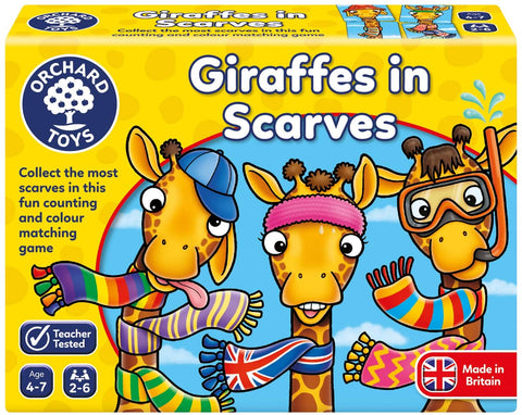 070 Orchard Giraffes in Scarves (T)