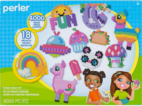 80-54376 Perler Fused Bead Kit Summer Fun